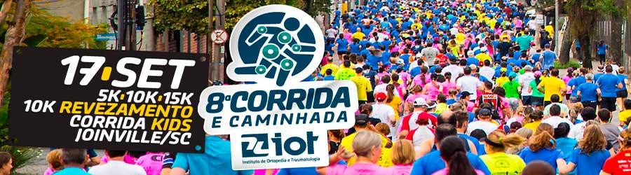 8ª Corrida e Caminhada IOT 2017
