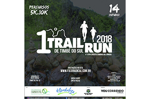 1º Trail Run de Timbé do Sul 2018
