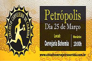 Circuito Cervejeiro de Corrida 2018 - Etapa Petrópolis - 25 de março