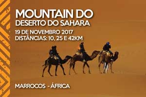 Mountain Do Deserto do Sahara