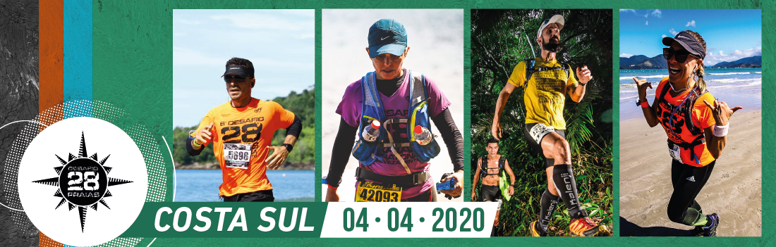 13ª Edição Desafio 28 Praias - Costa Sul