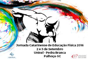 Jornada Catarinense de Educação Física 2016