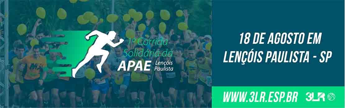 1ª Corrida Solidária APAE Lençóis Paulista