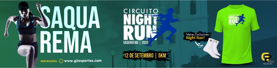 Circuito Night Run Etapa Saquarema