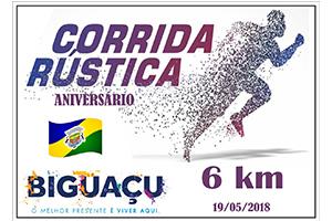 Corrida Rústica Aniversario de Biguaçu 2018