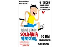 Corrida e Caminhada Solidária Vento Sul
