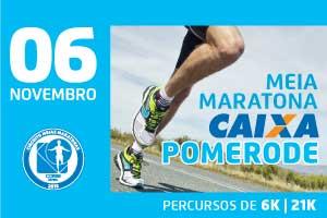 Meia Maratona CAIXA de Pomerode 2016