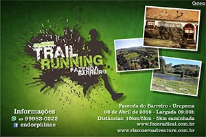 Endorphhine Trail Running - Fazenda do Barreiro 2018