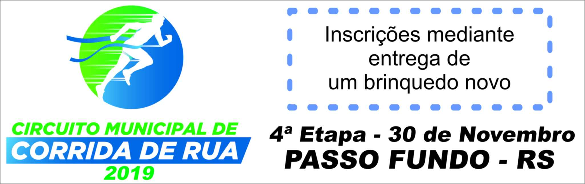 4ª Etapa Circuito Municipal de Corrida De Rua - Prefeitura de Passo Fundo - Rádio Uirapuru