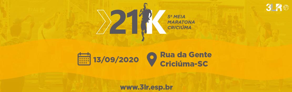 5ª MEIA MARATONA CRICIÚMA 2020