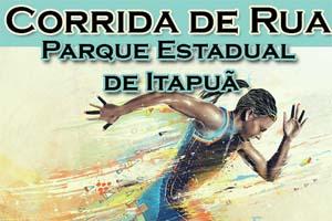 Corrida de Rua Parque estadual de Itapuã 2017