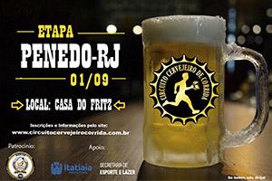 Circuito Cervejeiro de Corrida - Etapa Penedo - 01 de Setembro