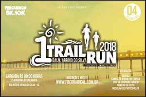 1º Trail Run Balneário Arroio do Silva 2018