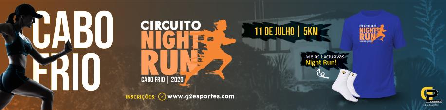 Circuito Night Run Etapa Cabo Frio