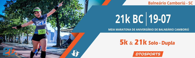 6º Meia Maratona de Aniversário de Balneário Camboriú - 21K BC