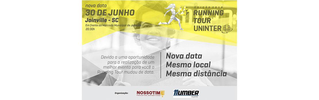 Running Tour Uninter - Etapa Joinville 2018