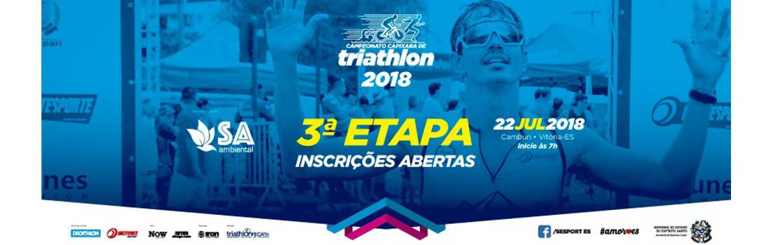 Campeonato Capixaba de Triathlon 2018 - 3ª Etapa