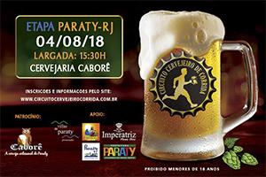 Circuito Cervejeiro de Corrida - Etapa Paraty - 04 de Agosto