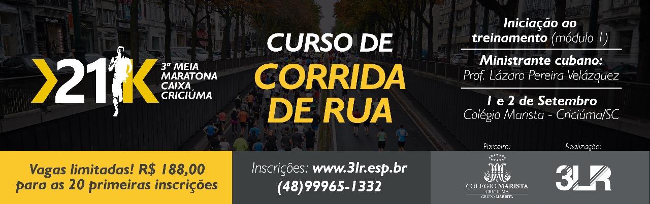 Curso de Corrida de Rua - Iniciação 2018
