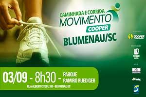 Caminhada e Corrida Movimento Cooper - Etapa Blumenau - 2017