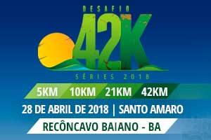 Desafio 42K 2018 - Recôncavo Baiano