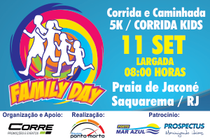 FAMILY DAY Corrida e Caminhada - Corrida KIDS