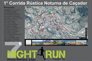 1ª Night Run Caçador