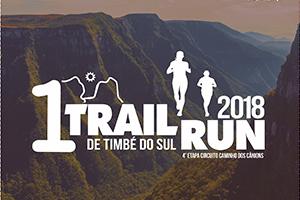1º Trail Run de Timbé do Sul 2018