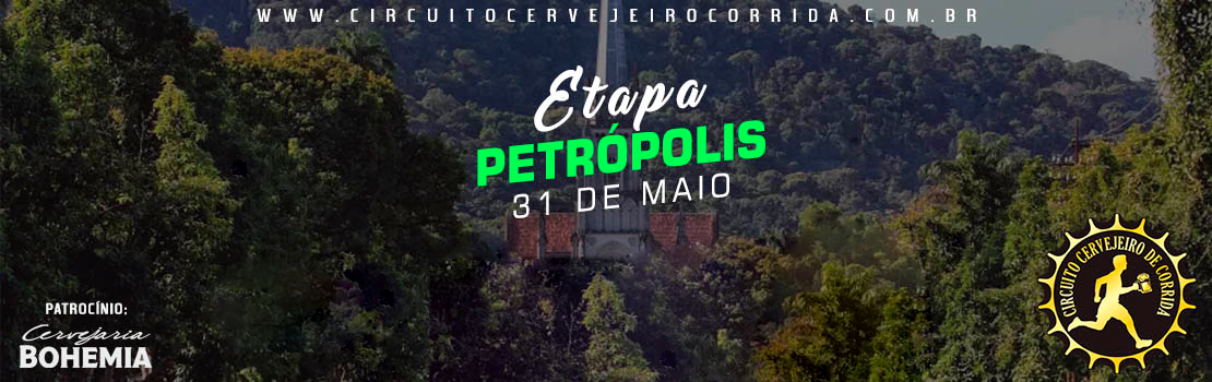 Circuito Cervejeiro de Corrida - Etapa Petrópolis 2020