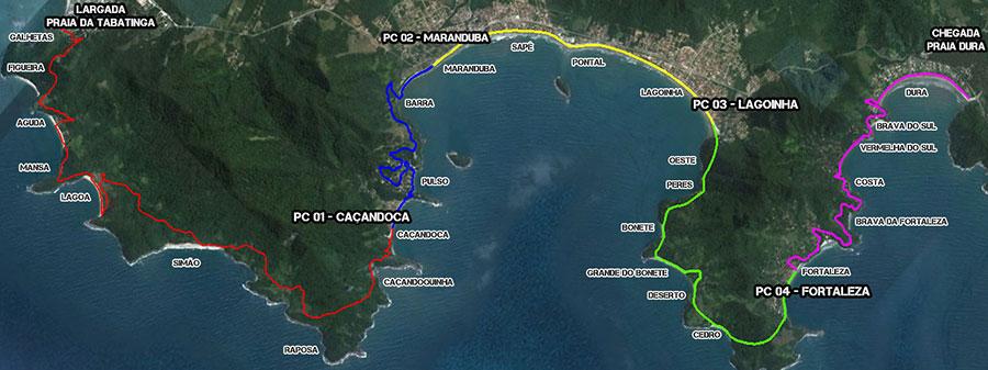 Mapa Percurso Completo
