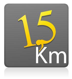 1,5 km - Sem Camiseta - Lote único