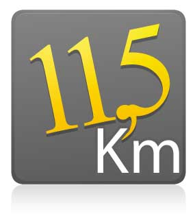 11,5 Km - individual - 1º Lote