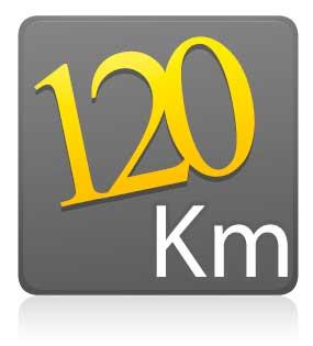 Estreantes - 120 km - COM camiseta de ciclismo ZIPER 15 CM - ROSA