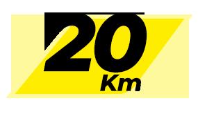 MDFDM - Individual - Com kit - 20KM - Acima de 60 anos - Lote Promocional único