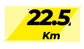 MDPR - Com Kit - 22,5KM - ACIMA DE 60 ANOS