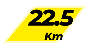 MDPR - Com Kit - 22,5KM - 1° Lote -