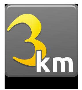 3 Km - SEM KIT - Individual - Lote único