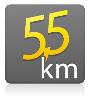 5,5 Km - SEM KIT - Individual - Lote único