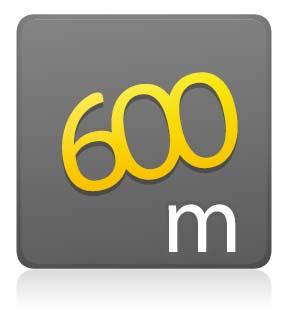 600 m - Com Camiseta - Lote único