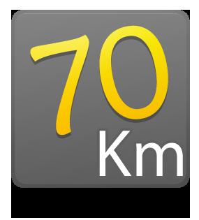 70 Km - Individual - 1º Lote