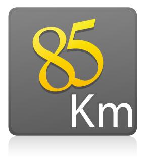 Estreantes - 85 km MBT/Speed - COM camiseta de ciclismo ZIPER 15 CM - PRETO E VERDE