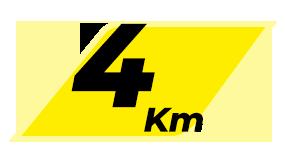 CCC - Corrida Individual - 5KM - 1° Lote