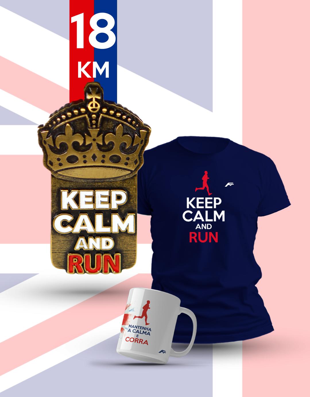 Pacote Keep Run 05 - 18KM