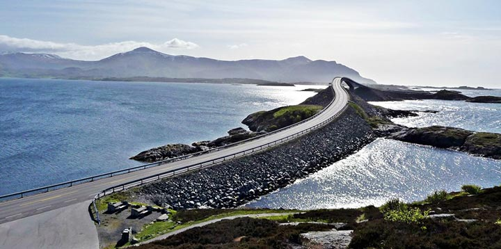 Atlantic Ocean Road, Noruega