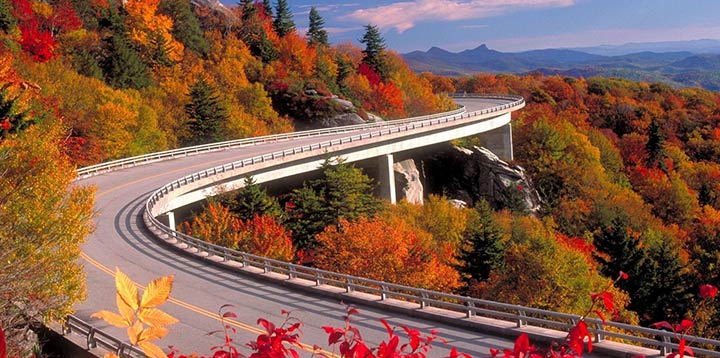 Blue Ridge Parkway, Estados Unidos