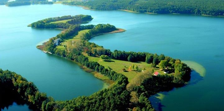 Lago Masurian, Polônia