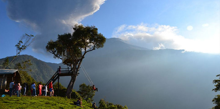 Swing End of The World, Ecuador