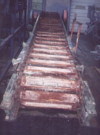 36 Quot X 25 Used Ingot Casting Conveyor System Alan Ross