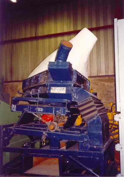 T15 Used Triple S Air Separating Table Alan Ross Machinery