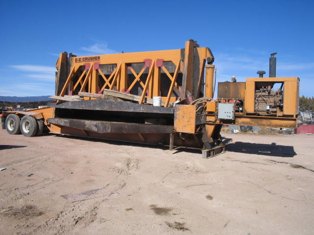A E Z Used Portable Car Crusher Alan Ross Machinery